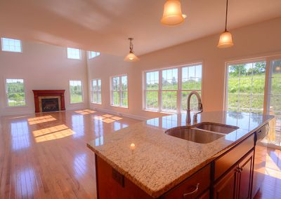 PRESTON II The Estates at Canterbury Crossing Kitchen Island Great Room Wondows