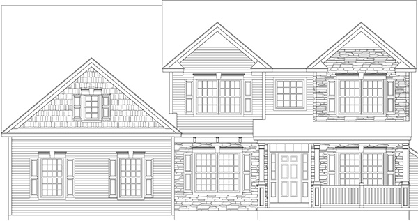 Amedore Homes Preston-AF-Elevation