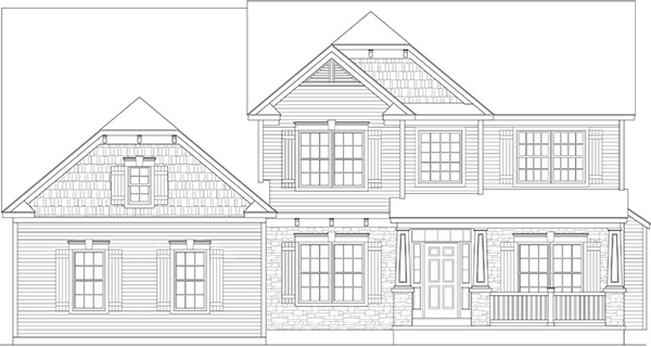 Amedore Homes Preston-TC-Elevation