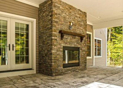 Amedore Homes Custom_Porch_Fireplace_A Miscellaneous